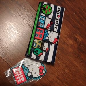 HelloKitty tri fold wallet (New with tags)